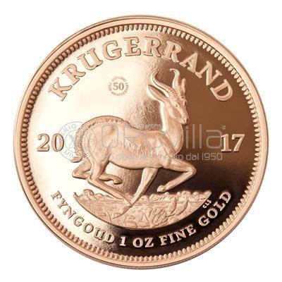 1 oz Krugerrand 50° anniversario