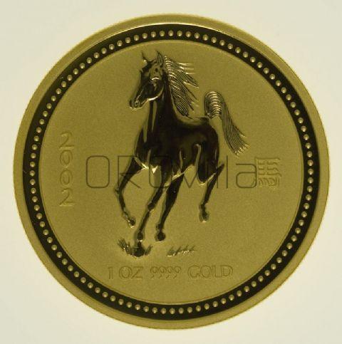 100 dollari Lunar I Cavallo