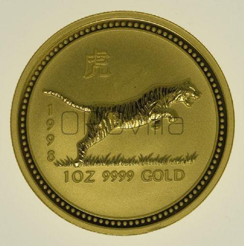 1 oz Lunar I Tigre