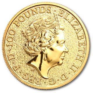 1 oz Queen's Beasts Grifone di Edoardo III