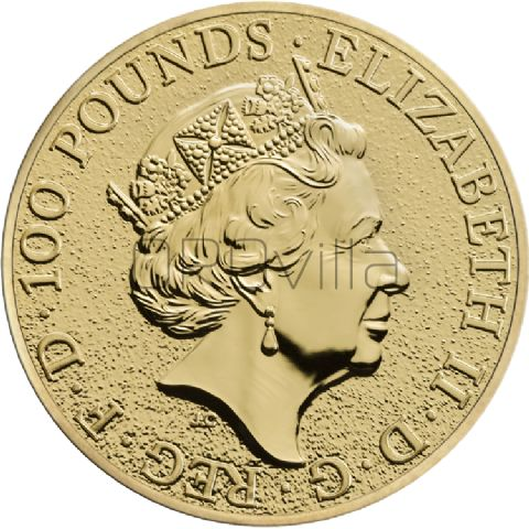 1 oz Queen's Beasts Leone d'Inghilterra