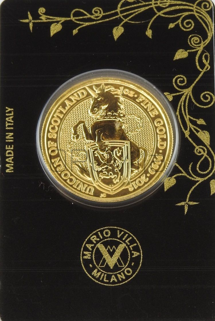 1 oz Queen's Beasts Unicorn of Scotland