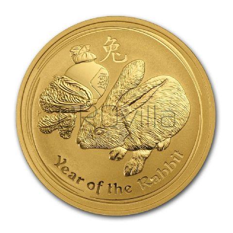 100 dollari Lunar II Coniglio