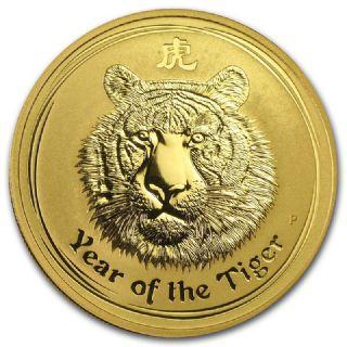 100 dollari Lunar II Tigre