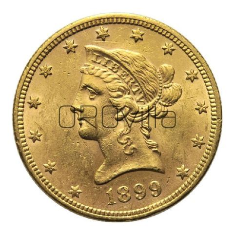 10 dollari americani Liberty (anni misti)
