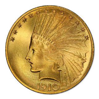 10 Dollari testa di indiano