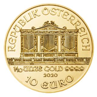 10 Euro Filarmonica di Vienna (2020)