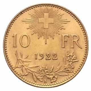 Mezzo marengo 10 Franchi Vreneli