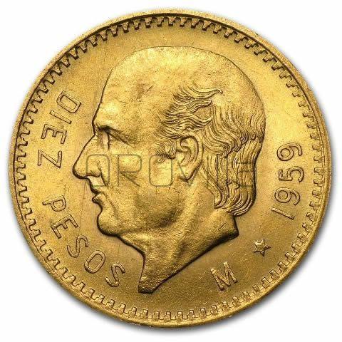 10 Pesos Estados Unidos Mexicanos