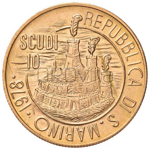 10 Scudi San Marino 1978 in confezione originale