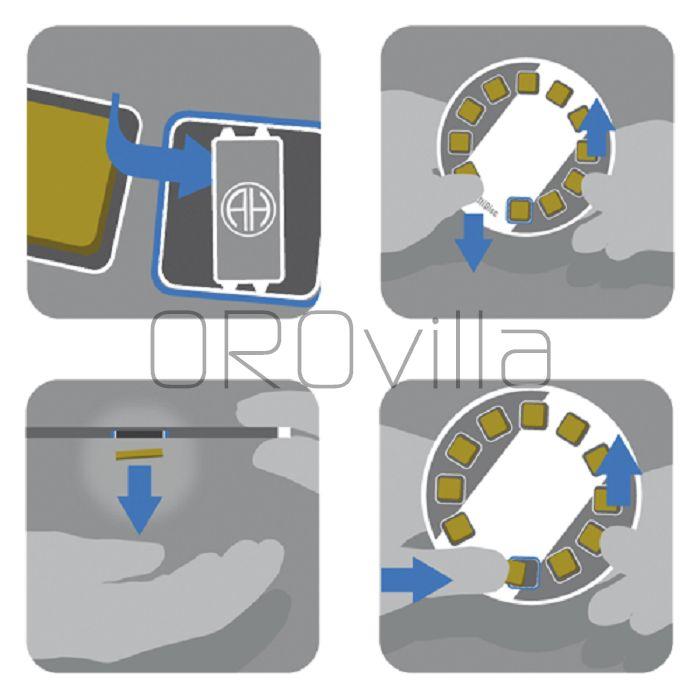 10 x 1g multi disco Heraeus