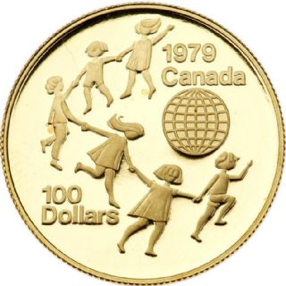 100 dollari Anno internazionale del bambino