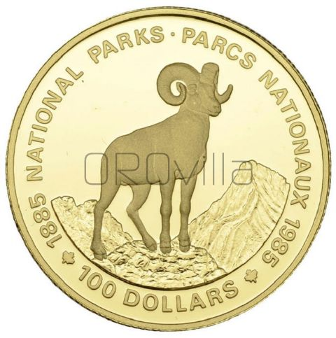 100 Dollari Parchi nazionali