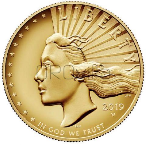 100 Dollari Lady Liberty 2019