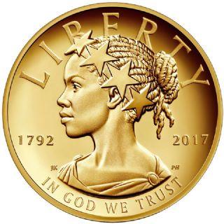 100 Dollari Lady Liberty 2017