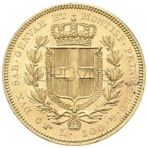 100 Lire Carlo Alberto