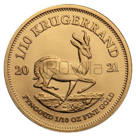1/10 oz Krugerrand (2021)