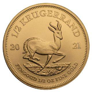1/2 oz Krugerrand (2021)