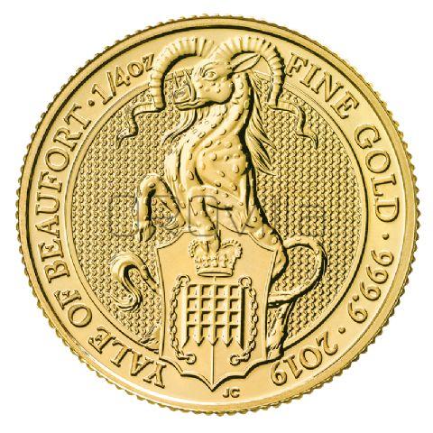 1/4 oz Queen's Beasts Yale of Beaufort