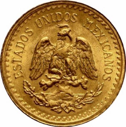 2 y Medio  Pesos Estados Unidos Mexicanos