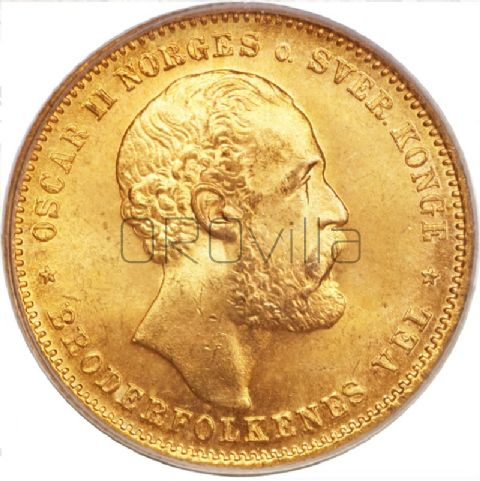 20 Corone Oscar II di Norvegia