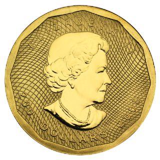 200 Dollari Maple Leaf (2008) in confezione originale