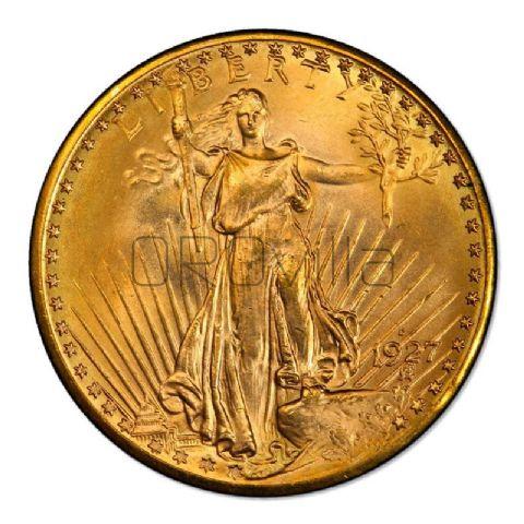 20 dollari americani S.Gaudens (anni misti)