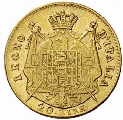 Marengo 20 Lire Napoleone Regno d'Italia