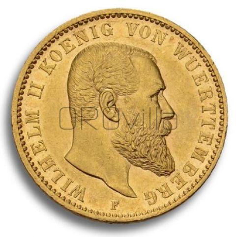 20 marchi Guglielmo II Württemberg
