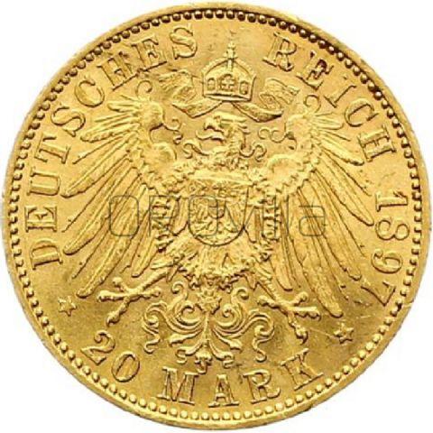 20 Marchi Guglielmo II di Prussia e Germania