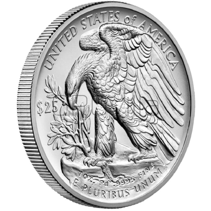 25 Dollari aquila americana in Palladio (2017)