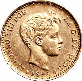 20 Pesetas Alfonso XIII (terzo ritratto)
