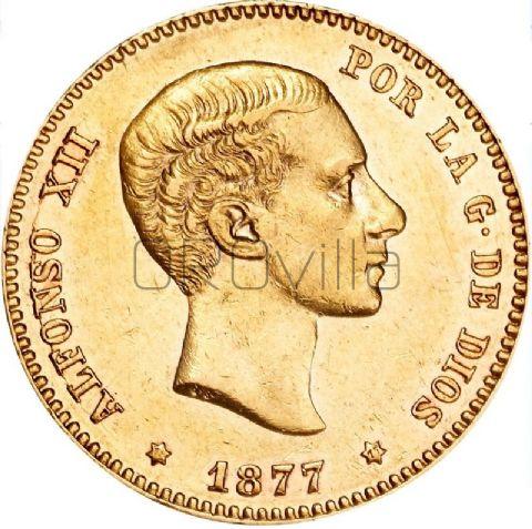 25 Pesetas Alfonso XII