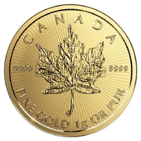 25 x 1gr MapleGram (Canada) in confezione originale