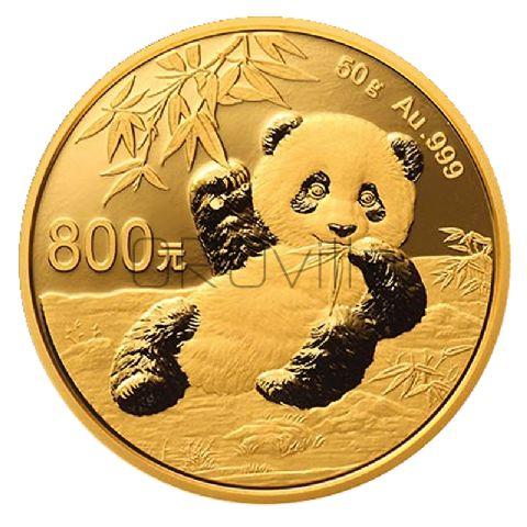 800 Renminbi - Panda cinese 2020