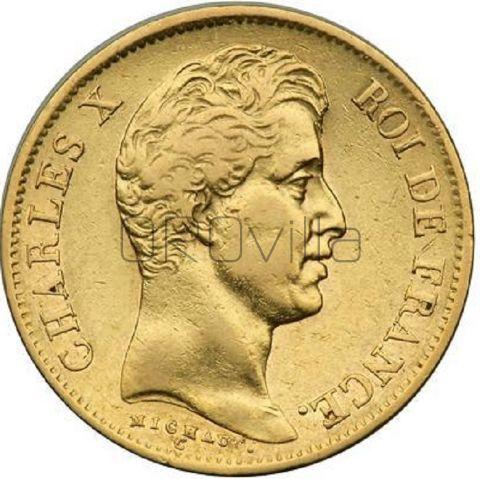 40 franchi Carlo X