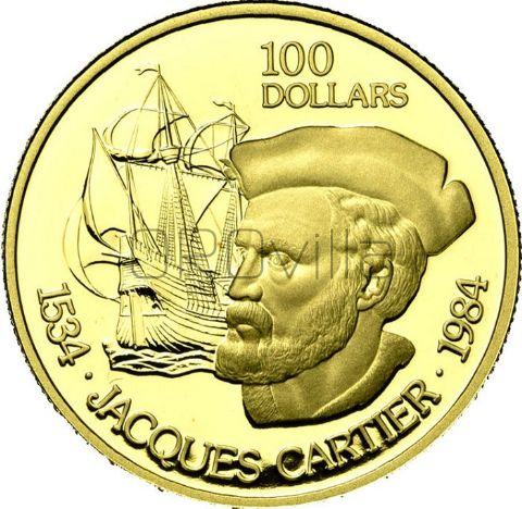 100 Dollari J. Cartier Canada in confezione originale