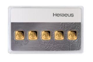5 x 1g multi disco Heraeus