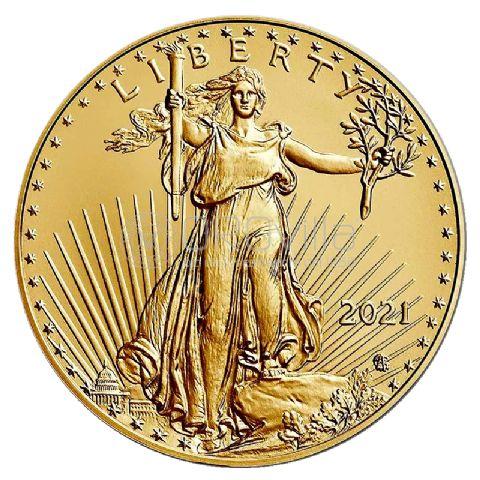 50 Dollari American Eagle 2021 Anniversario