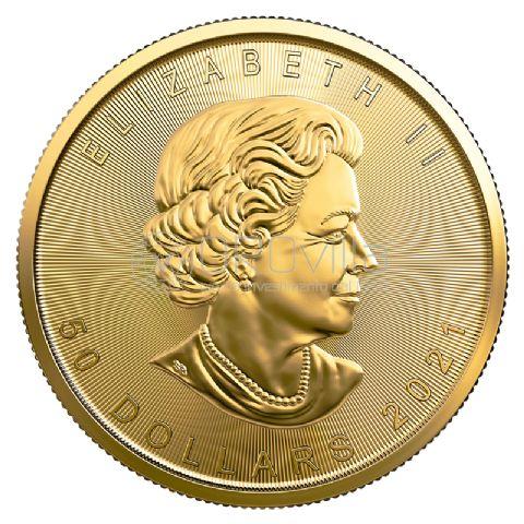 50 Dollari Maple Leaf 2021