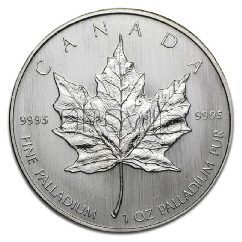50 Dollari Maple Leaf in Palladio
