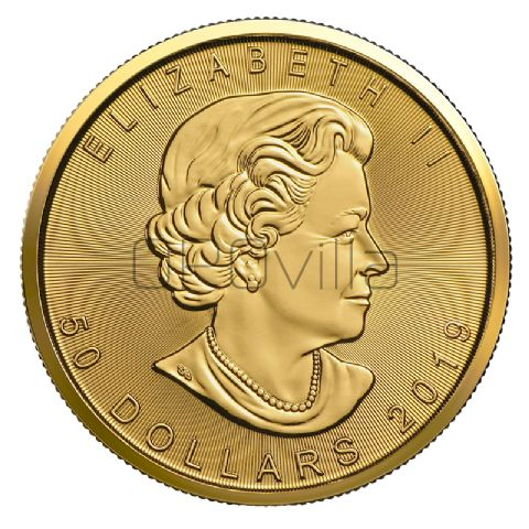 50 Dollari Maple Leaf 2019