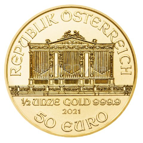 50 Euro Filarmonica di Vienna 2021