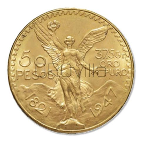 50 pesos messicano (anni misti)