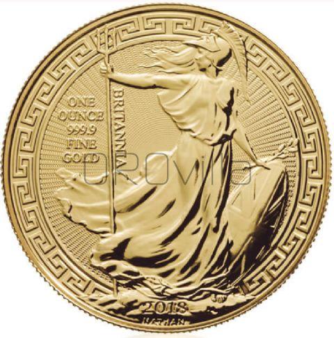 Britannia orientale - 1 oncia d'oro