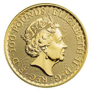 Britannia oro 1 oncia (2021)