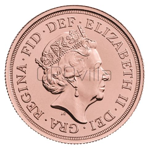 Doppia Sterlina Elisabetta II 2020