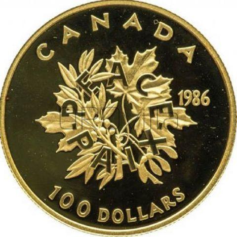 100 Dollari Peace Canada