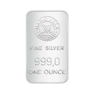 Lingotto argento 1 oncia