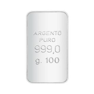 Lingotto in Argento puro 999/1000